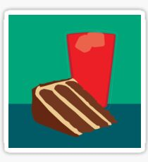 Peanut Butter Chocolate Cake with Kool-Aid (ver. 2) Sticker