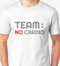 TEAM NO CARDIO BODYBUILDING T-Shirt