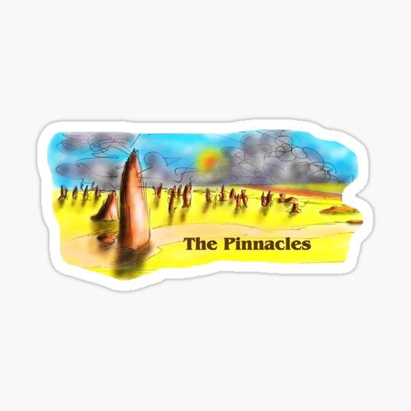 The Pinnacles Sticker