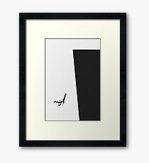 White-collar worker Framed Print