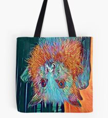 Colourful Baby Flying-fox Tote Bag