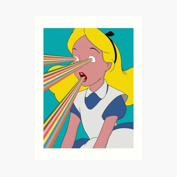 Alice is Dead Art Print