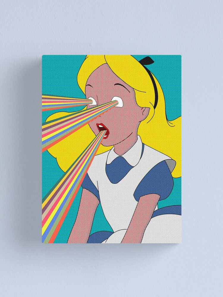 Alternate view of Alice is Dead Canvas Print