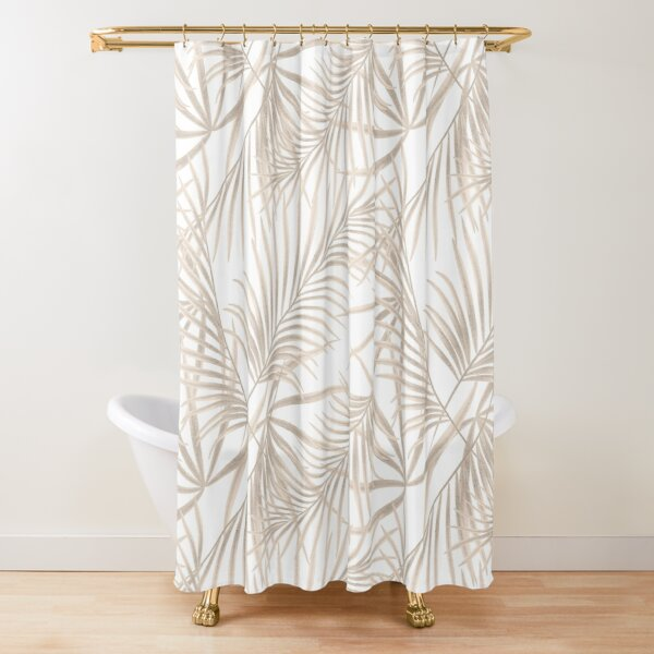 Palm leaves 5 Shower Curtain