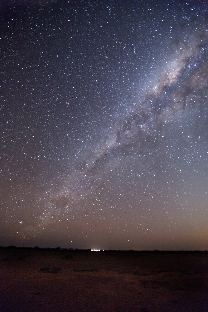 Milky way over Maree by Mark Williamson