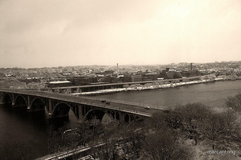 Key Bridge, Washington DC by marcantony