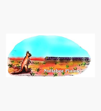 Nullabor Plains Photographic Print