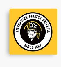 pirates baseball Canvas Print