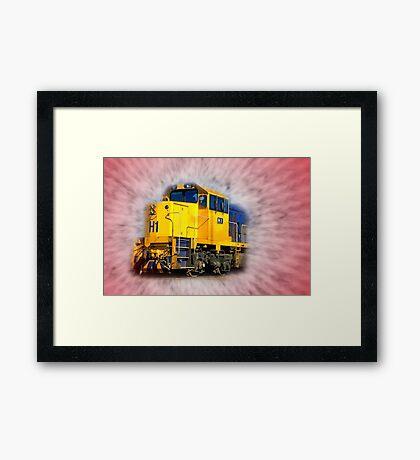 """""""The Arrival of The Gospel Train"""" Framed Print"""