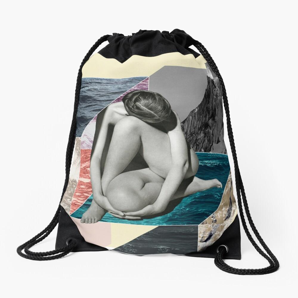 Social Anxiety Drawstring Bag