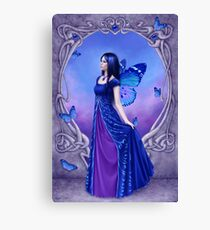 Sapphire Birthstone Fairy Canvas Print