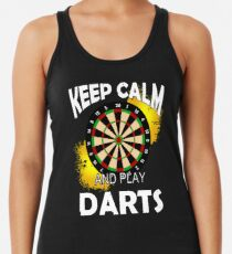 Keep Calm And Play Darts Women's Tank Top