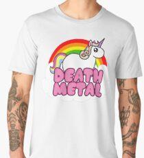 Death Metal Unicorn Men's Premium T-Shirt