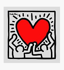 Keith Allen Haring Photographic Print