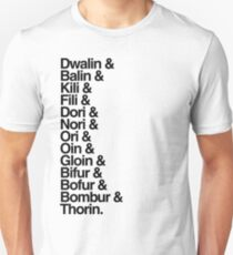 The Hobbit Dwarves T-Shirt