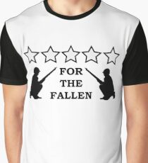 For the Fallen Graphic T-Shirt