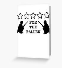 For the Fallen Greeting Card