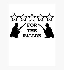 For the Fallen Photographic Print