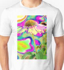 Iridescent Echinacea Unisex T-Shirt