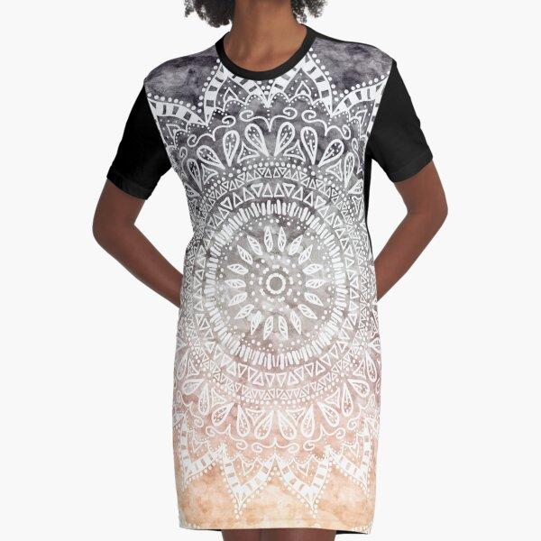 BOHEMIAN HYGGE MANDALA Vestido camiseta