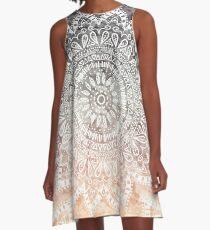 BOHEMIAN HYGGE MANDALA A-Line Dress