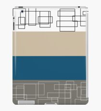 Blue Stripe iPad Case/Skin