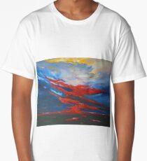 Sunset over the Islands of Ireland Long T-Shirt