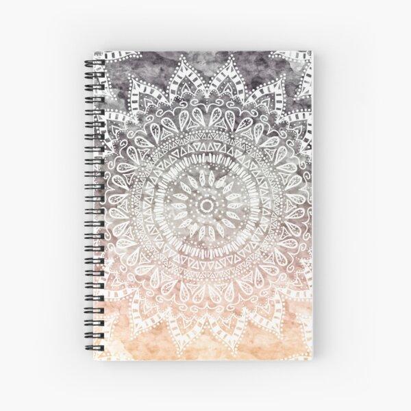 BOHEMIAN HYGGE MANDALA Spiral Notebook
