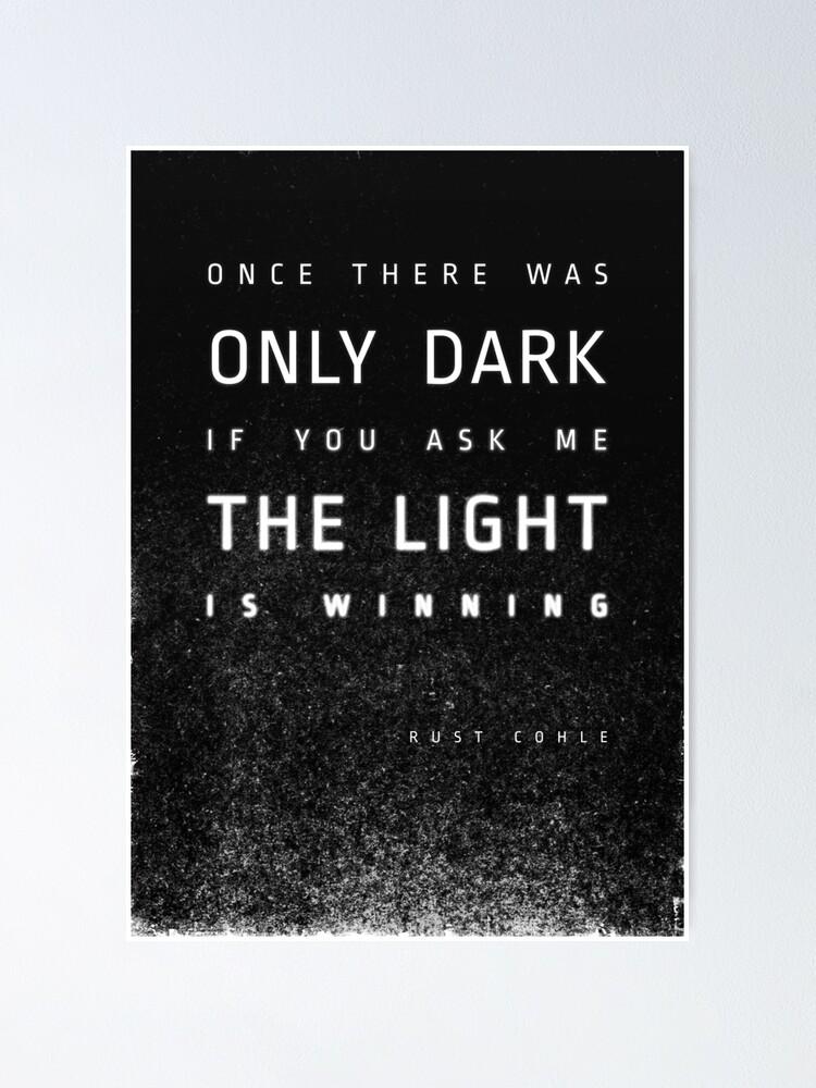 Alternative Ansicht von LIGHT vs. DARK Poster