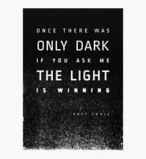 LIGHT vs. DARK Fotodruck