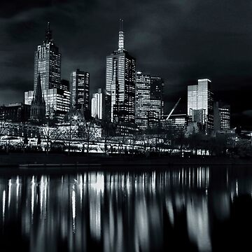 City Reflecting off the River by ea-photos