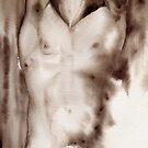 Male Nude # 4 by Markus Kunschak