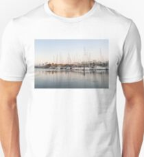 Feeding Fish - Early Morning Marina at Portimao Portugal Unisex T-Shirt