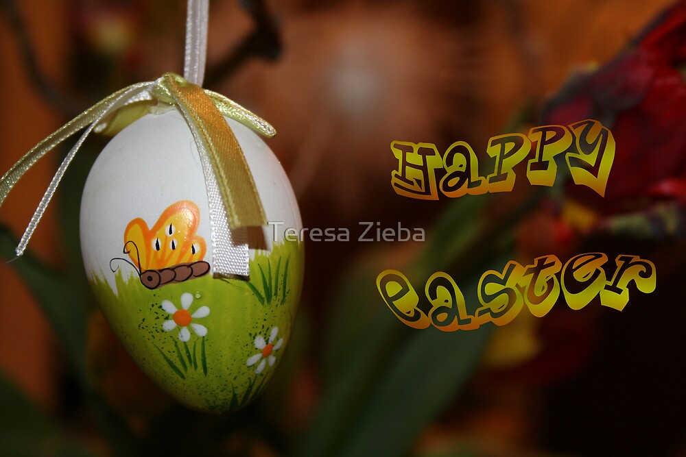 Happy Easter #1 by Teresa Zieba