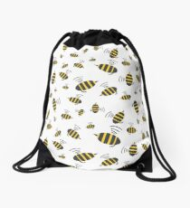 Buzzing Bumble Bees - A tribute to the bees of the world.  Drawstring Bag
