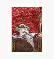 Hot Bed! Kunstdruck