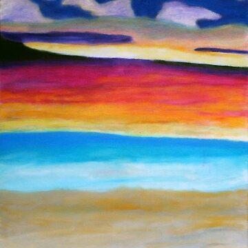 Fraser Island sunset by artforsoul