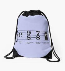 Wibbly-wobbly timey-wimey Drawstring Bag
