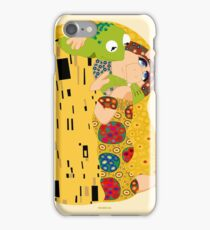 Klimt muppets iPhone Case/Skin