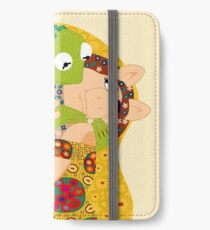 Klimt muppets iPhone Wallet/Case/Skin