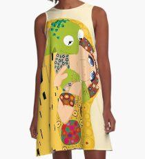 Klimt muppets A-Line Dress