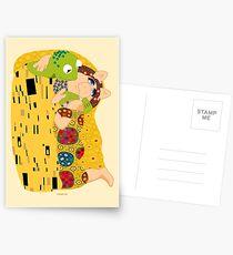 Klimt muppets Postcards