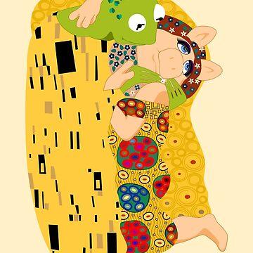 Klimt muppets by loreleipelaez