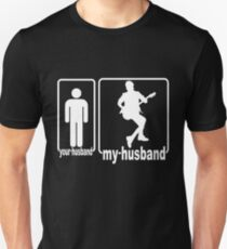 My Husband Is Guitar Lover, Your Husband's Not Unisex T-Shirt