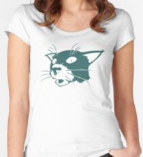 Somchai the Cat Women's Fitted Scoop T-Shirt