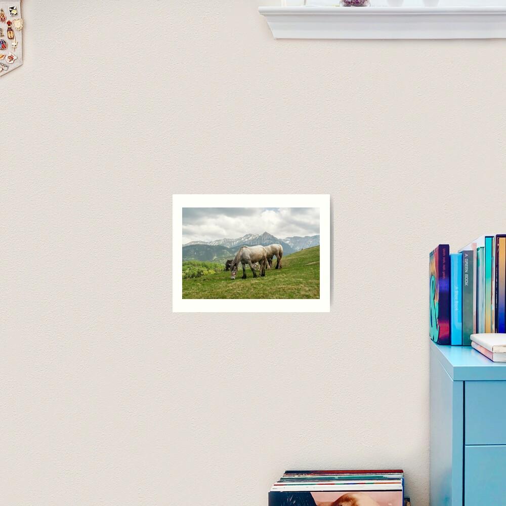 Keep grazing Art Print