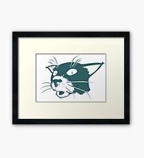Somchai the Cat Framed Print