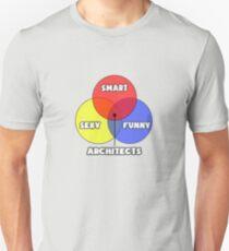Venn Diagram ... Architect Humor Unisex T-Shirt