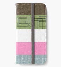 Pink Stripe iPhone Wallet/Case/Skin