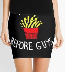 Fries Before Guys  Mini Skirt